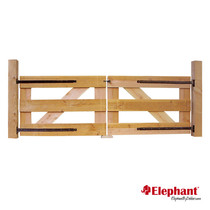 Elephant | Dubbele poort | 300x100 cm | Douglas