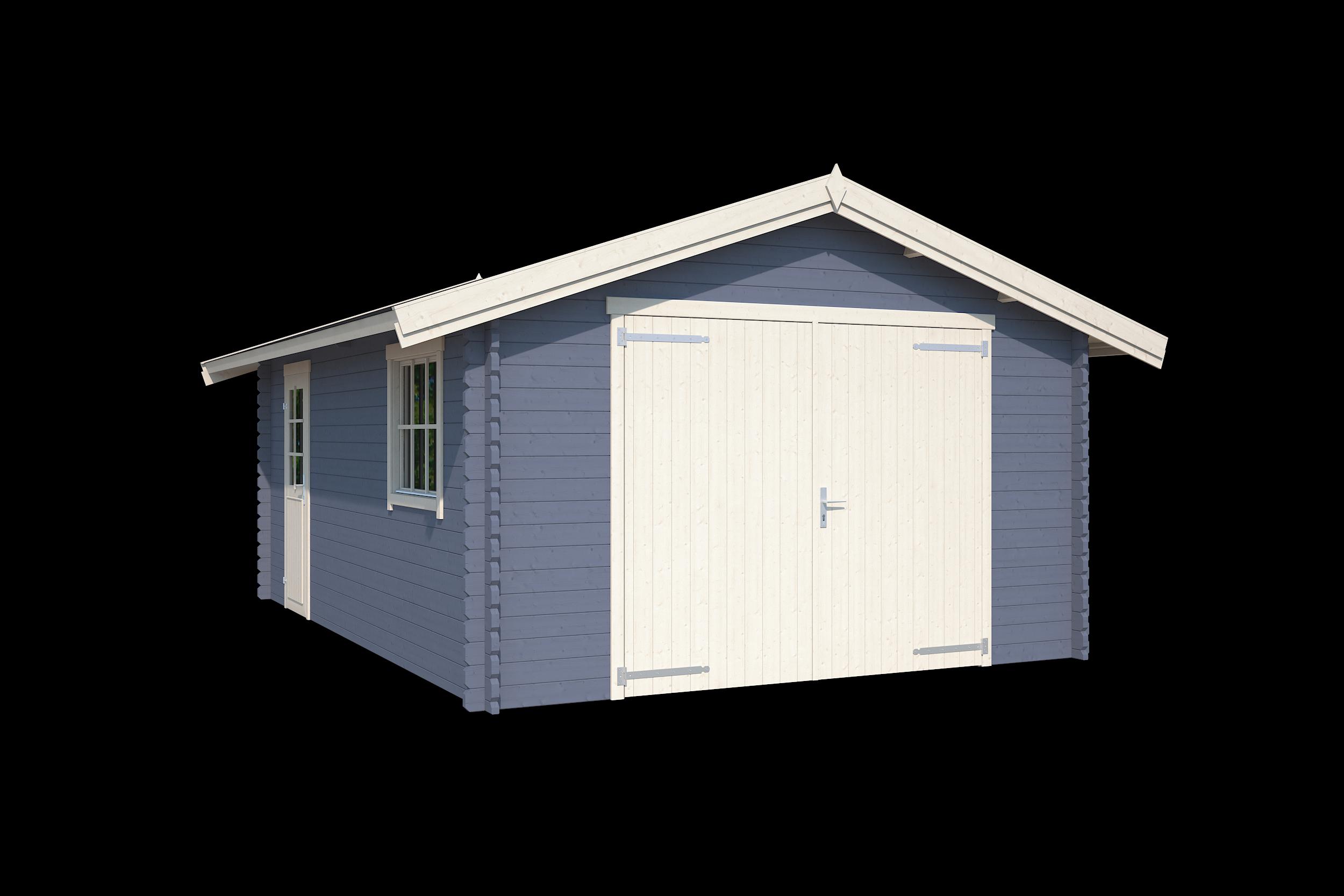 Nubuiten | Garage Yarik | Pigeon Blue | 560x400 cm