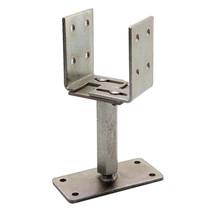 Paaldrager verstelbaar | Type U | 8-16 cm | Grijs verzinkt