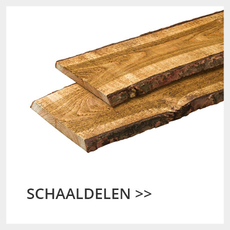 schaaldelen douglas hout
