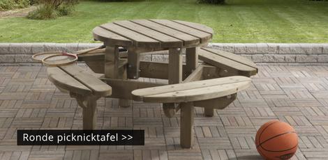 Ronde Houten Picknicktafel.Ronde Picknicktafel Nergens Goedkoper Ronde Picknicktafel Kopen