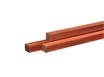Hardhouten paal | Azobe | 65 x 65 mm | 300 cm