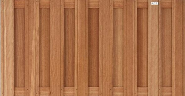 Westwood | Tuinscherm Bangkirai | 15-planks | 90cm