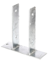Balkdrager | U-vorm | Verzinkt | 71 mm