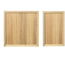 Gardival | Zijpaneel Oxford 180x180 cm | Grenen