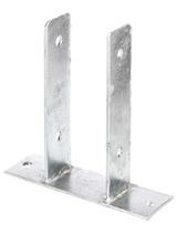 Balkdrager | U-vorm | Verzinkt | 121 mm