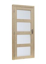 Woodvision | Glasdeur 4-ruits Geïmpregneerd groen