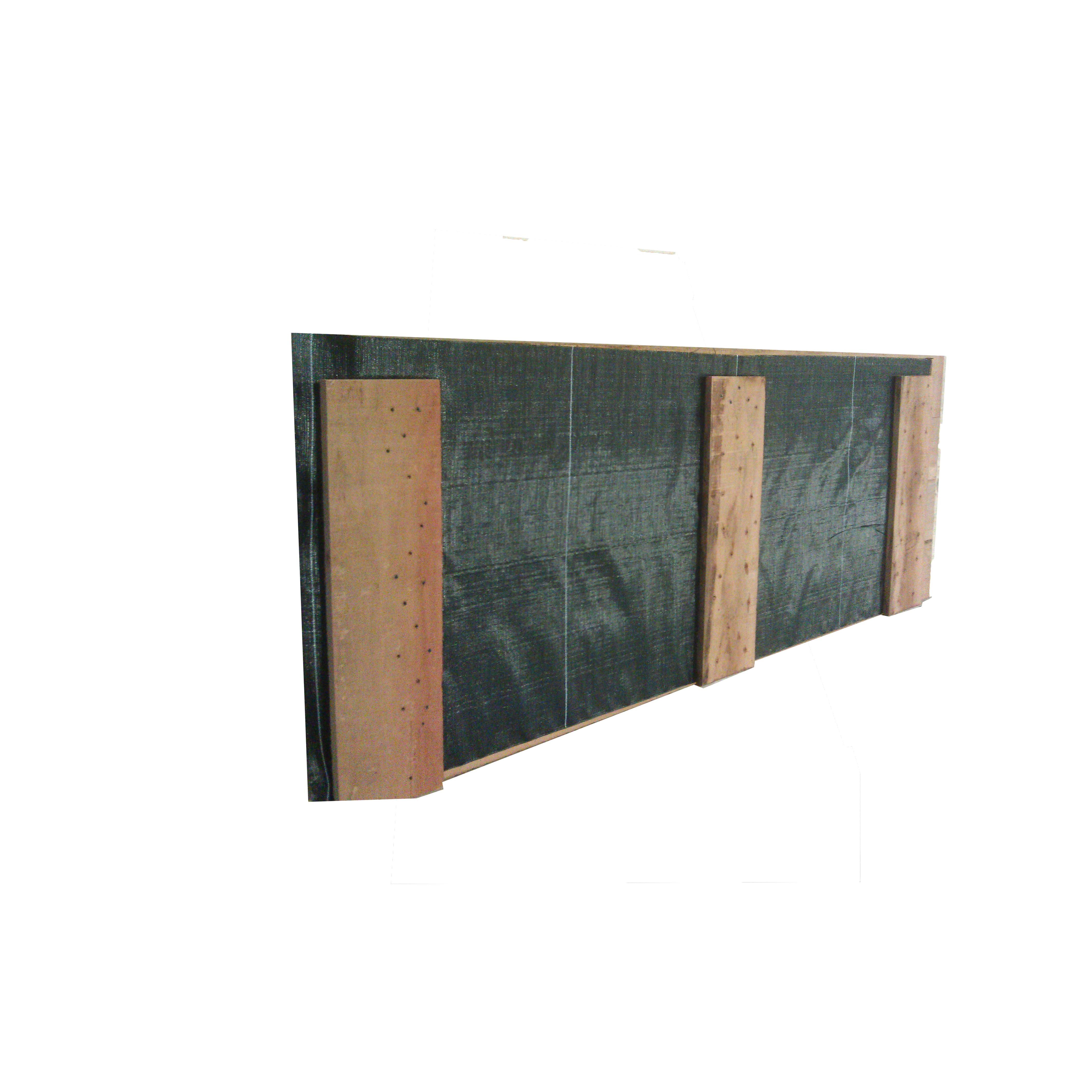 Hardhouten beschoeiingsschot 60cm