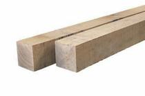 Eiken paal | 100x100 | 150cm