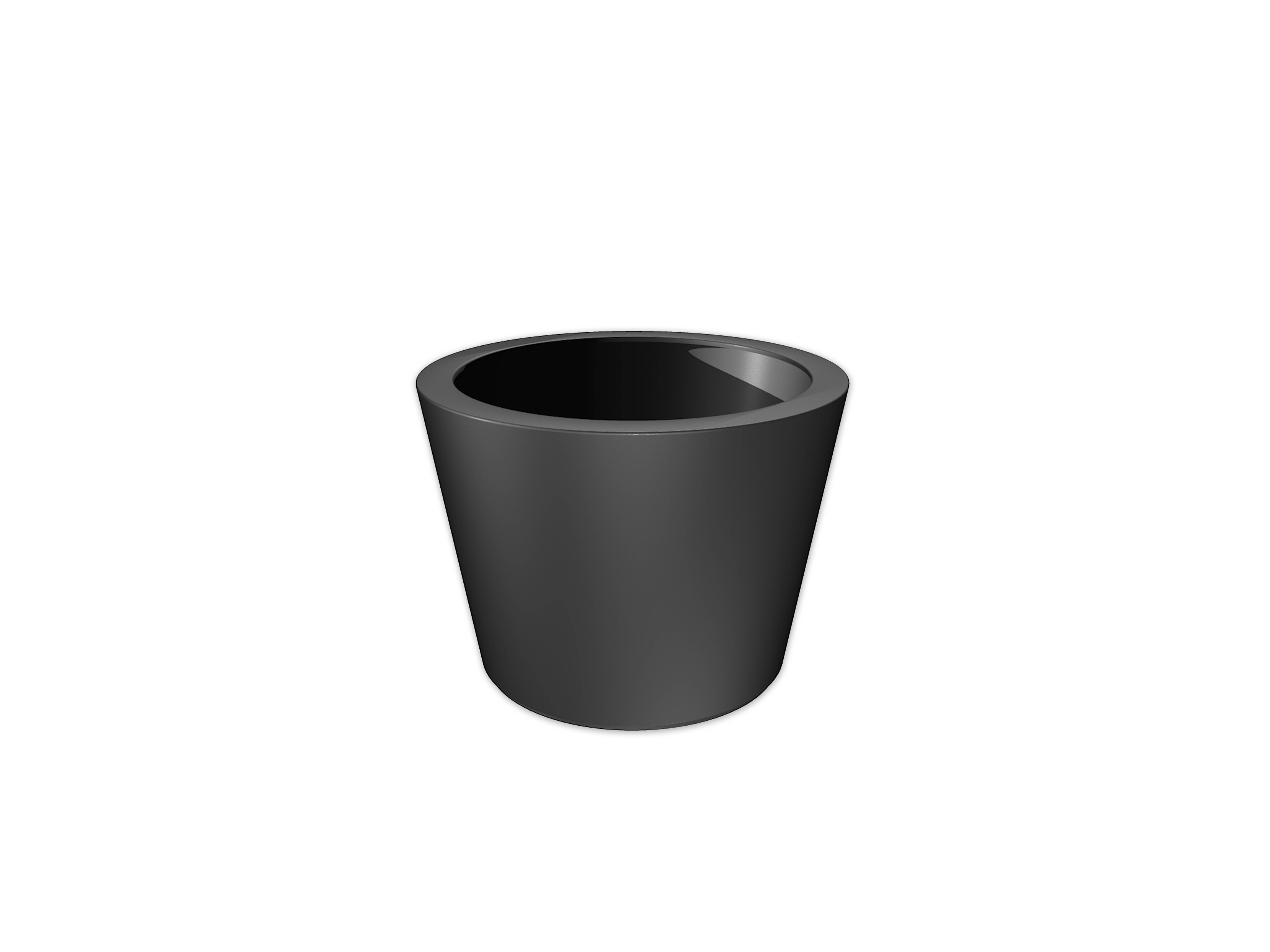 Adezz | Polyester bloembak Acer | Ø95 x 70 cm