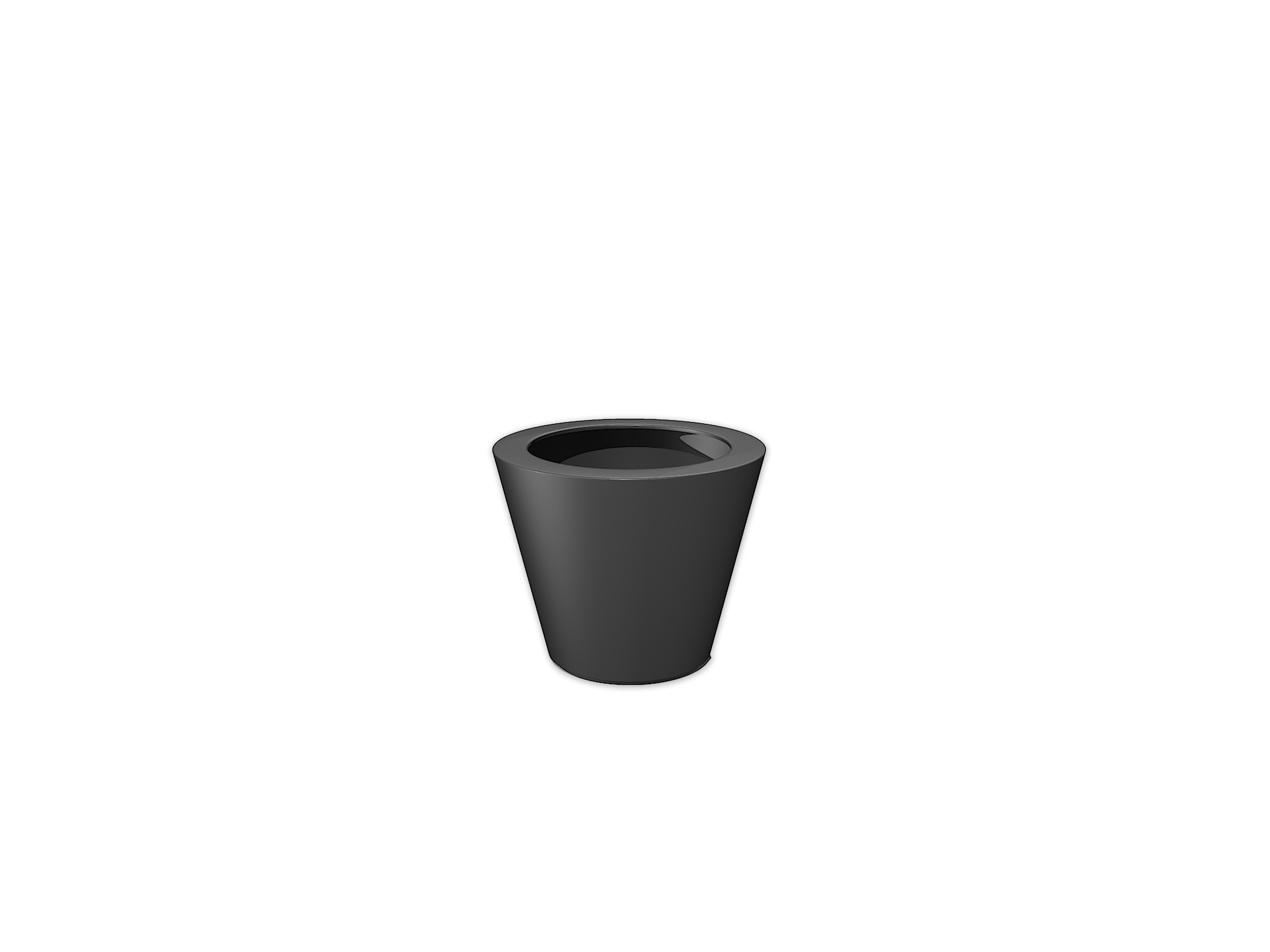 Adezz | Polyester bloembak Acer | Ø63 x 52 cm