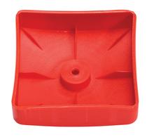 KBT | Afdekdop voor palen | vierkant | Rood | 70 mm