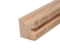 Douglas Hoekpaal | Duplo verlijmd | 140 x 140 sc.