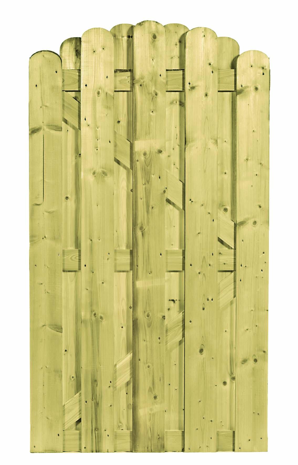 CarpGarant | 1742 | Deur afgerond toog | 180 x 100 cm
