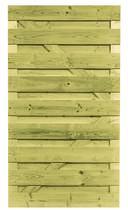CarpGarant | 1720 | Vuren deur recht horizontaal | 180 x 100 cm