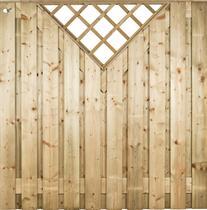CarpGarant | 1256 | Scherm venster recht verticaal | 180 x 180cm voor beton