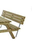 Van Talen | Rugleuning tbv picknicktafel 150 cm