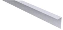 CarpGarant | Hoekprofiel aluminium zilver 3 x 7 x 500 cm