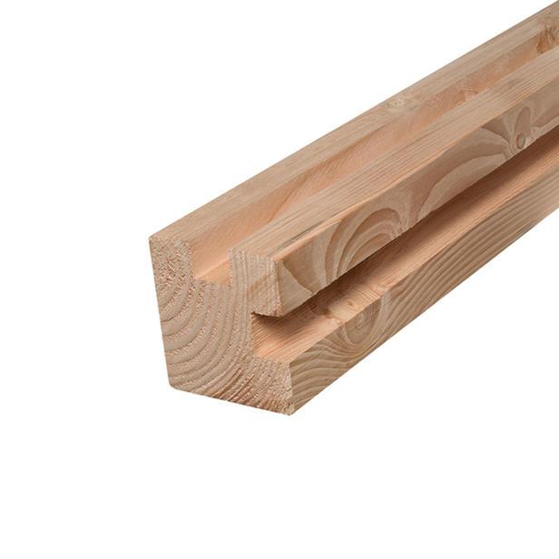 Hoekpaal Douglas 110x110x300 cm| CarpGarant