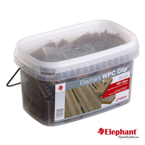 Elephant | Polymer Clips | Bruin
