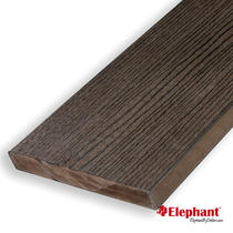 Elephant | Vlonderplank massief composiet | Bruin | 25 x 190