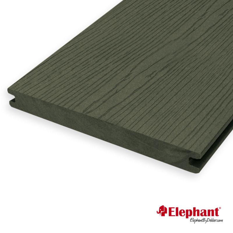 Elephant | Vlonderplank 19x193 mm | 390 cm | Antraciet