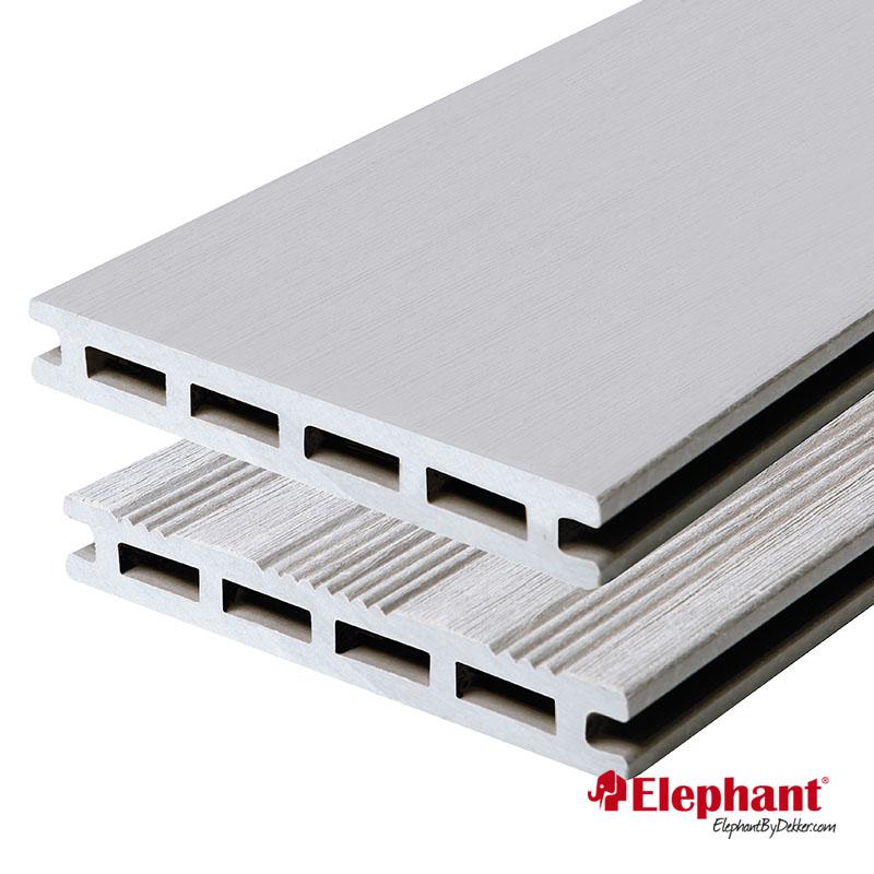 Elephant | Vlonderplank 21x145 mm | 500 cm | Grijs | 2 stuks