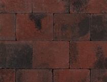 Kijlstra | Trommelkassei 20x15x6 | Rood/zwart