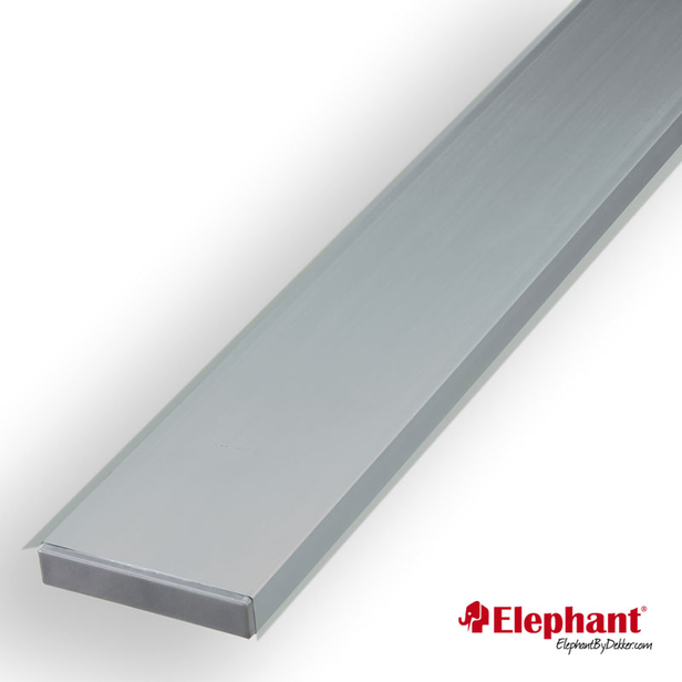 Elephant | Aluminium ligger | Grijs