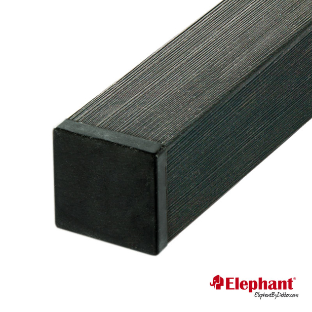 Elephant | Composiet FSC® Basic paal 270 cm | Antraciet
