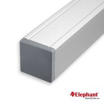 Elephant | Aluminium paal/kap | Aluminium | 68x68 mm lengte 135 cm