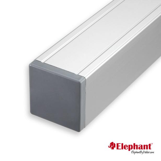 Elephant   Aluminium paal/kap   Aluminium   68x68 mm lengte 272 cm