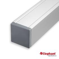 Elephant | Aluminium paal/kap | Aluminium | 68x68 mm lengte 272 cm
