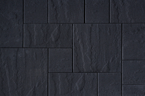 Kijlstra | H2O Excellent Reliëf Square 80x40x5 | Black Emotion