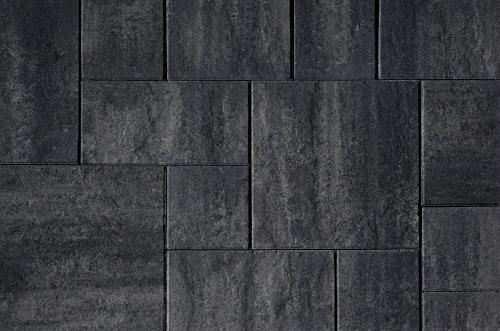 Kijlstra | H2O Excellent Reliëf Square 60x60x5 | Nero/Grey Emotion