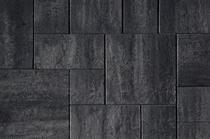 Kijlstra   H2O Excellent Reliëf Square 60x60x5   Nero/Grey Emotion