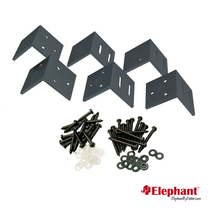Elephant | Hoekbeslag tuinscherm | Antraciet