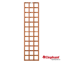Elephant | Trellis recht hardhout | 55 x 180 cm