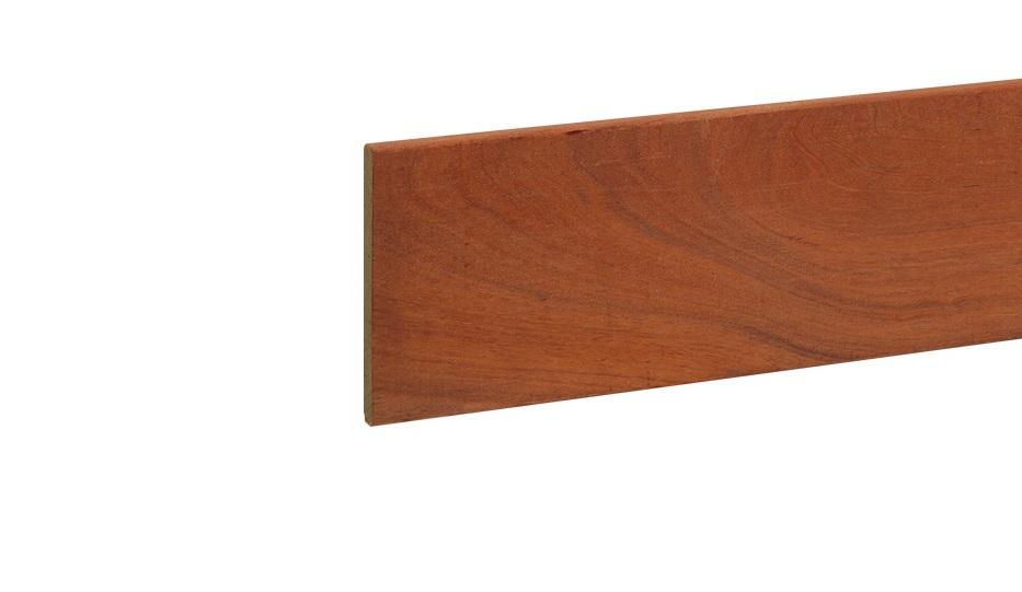 Fijnbezaagd beschoeïngsplank duurzaamheidsklasse 1 angelim vermelio 20 x 200 mm  u kunt hierboven de ...
