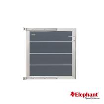 Elephant | Tuindeur Modular | 90x97 cm | Rock Grey/Aluminium