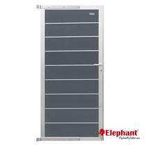 Elephant | Tuindeur Modular | 90x200 cm | Rock Grey/Aluminium