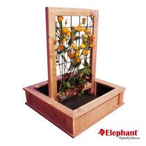 Elephant | Trendline moestuin met trellis | 75x75 cm