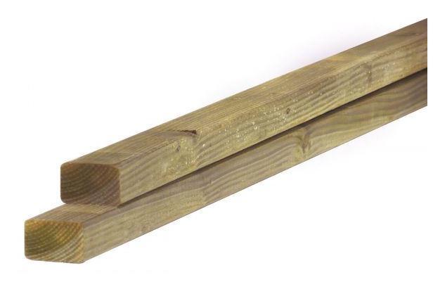 Regel Douglas | 45 x 75 mm | Geïmpregneerd | 400 cm