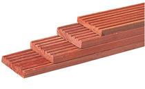 Hardhout vlonderplank Keruing 25x145 | 245 cm