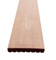 Vlonderplank | Keruing | Glad/ribbel | 25 x 145 mm | 245 cm