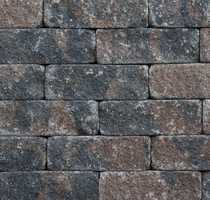 Kijlstra | Splitrocks ongetrommeld 11x13x32 | Bruin/zwart