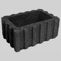 Excluton | Rasterflor beplantingselement 60x40x25 | Antraciet
