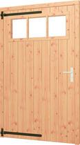 Trendhout | Opgeklampte deur XL met bovenraam | L
