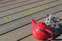 Fiberon | Pro-Tect Plus | Latte | Vlonderplank 24 x 136 | 488 cm