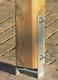 Zware balkdrager | H-vorm | Verzinkt | 91x800 mm